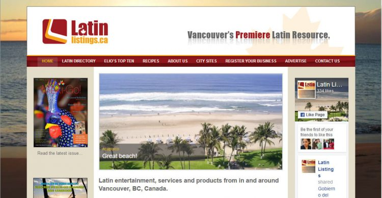 Latin Listings
